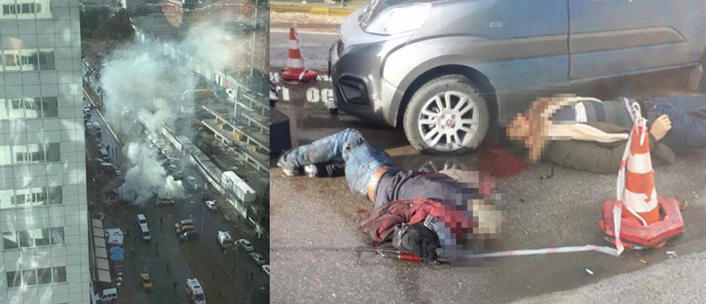 """Το PKK """"βλέπει"""" πίσω από την επίθεση στη Σμύρνη η Άγκυρα"""