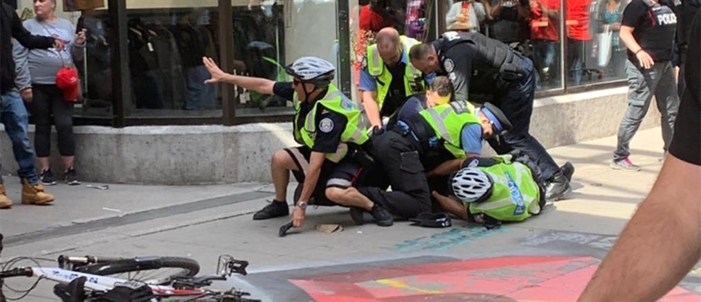 ΝΒΑ: Η στιγμή των πυροβολισμών στην φιέστα των Τορόντο Ράπτορς (βίντεο)
