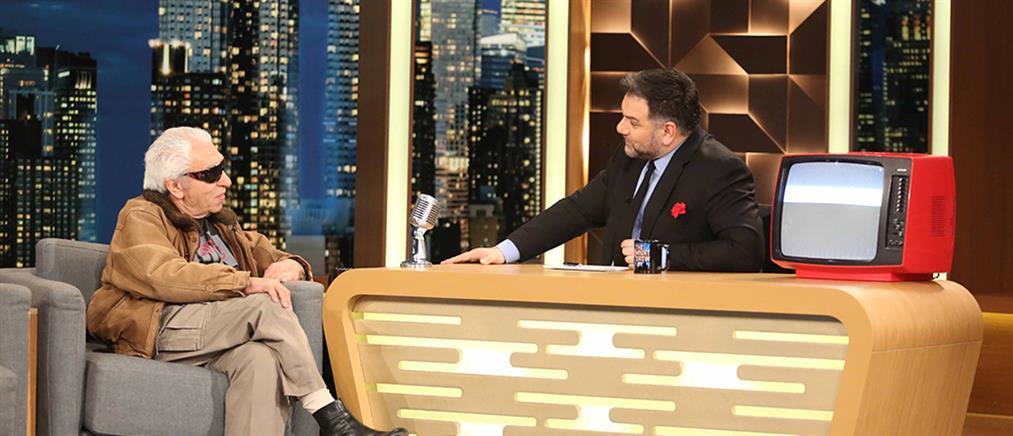 """Ο Τάσος Μπουγάς στο """"The 2Night Show"""" (βίντεο)"""
