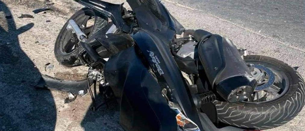 Ρόδος: Φονική σύγκρουση μηχανής με απορριματοφόρο (εικόνες)
