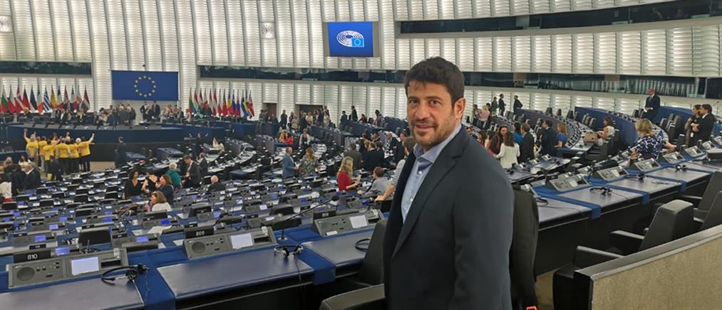 Αποκλειστικό: το μήνυμα του Αλέξη Γεωργούλη μετά την ορκωμοσία στην Ευρωβουλή (βίντεο)