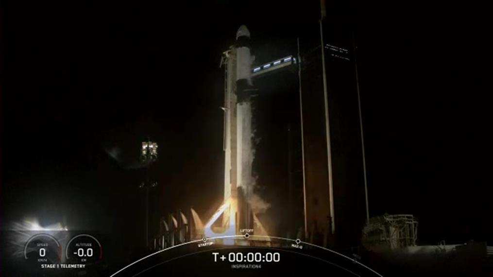SpaceX: Ιστορική διαστημική πτήση μόνο με πολίτες