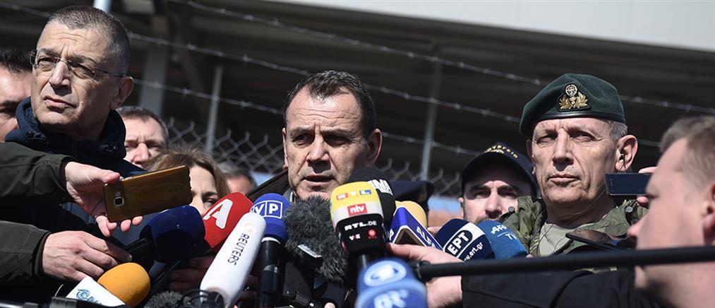 Παναγιωτόπουλος από Καστανιές: θα γίνει ότι χρειαστεί για την φύλαξη των συνόρων μας