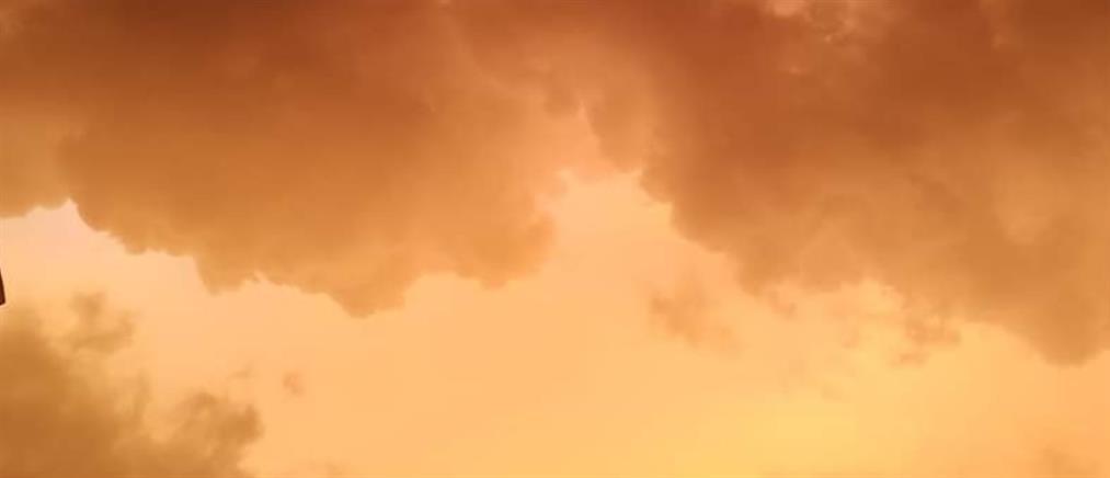 Κόκκινος ουρανός: το φαινόμενο που ξεσήκωσε το Twitter (εικόνες)