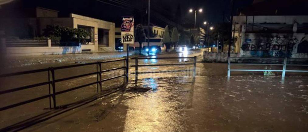 Εικόνες καταστροφής στη Μεγαλόπολη (φωτο+βίντεο)