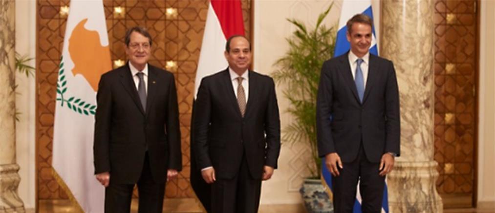 Μητσοτάκης: στην Κύπρο για την τριμερή με Αναστασιάδη και Αλ Σίσι