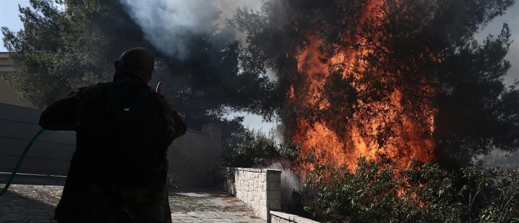 Φωτιές - ΥΠΕΣ: έκτακτη ενίσχυση σε 17 Δήμους