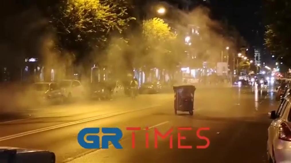 Σοβαρά επεισόδια στη Θεσσαλονίκη