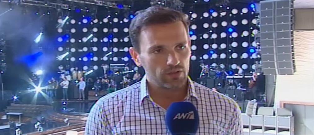 Ο Νίκος Βέρτης στον ΑΝΤ1 για την συναυλία του στο Γουέμπλεϊ (βίντεο)