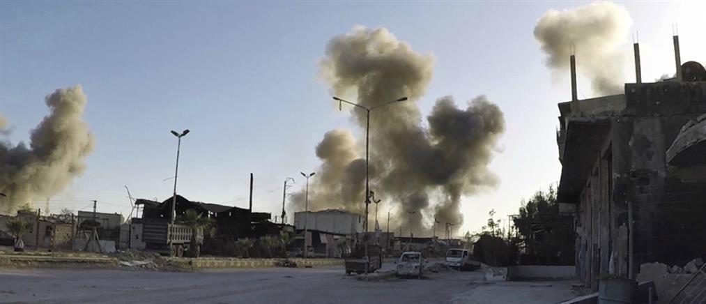 Πύραυλοι στη Χομς, μετά τα χημικά στην Ντούμα