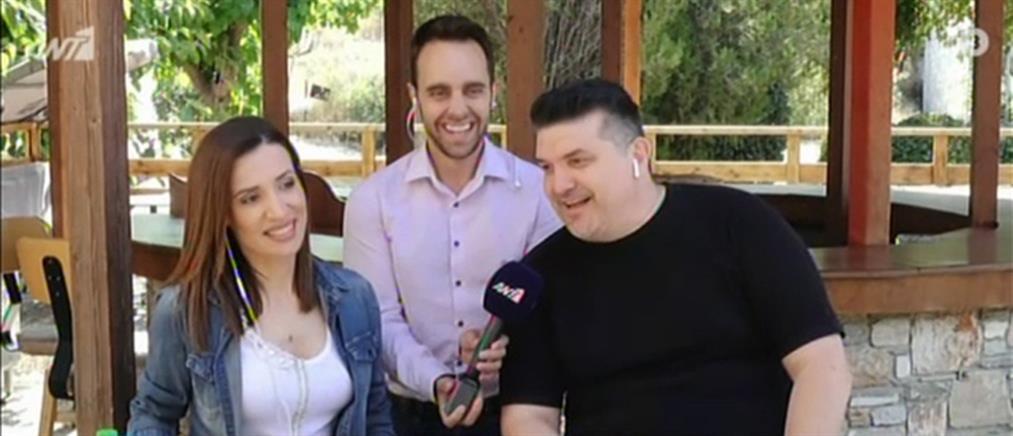 """Καψάλης και Γρίβα στον ΑΝΤ1 για το """"λουκέτο"""" στα πανηγύρια (βίντεο)"""