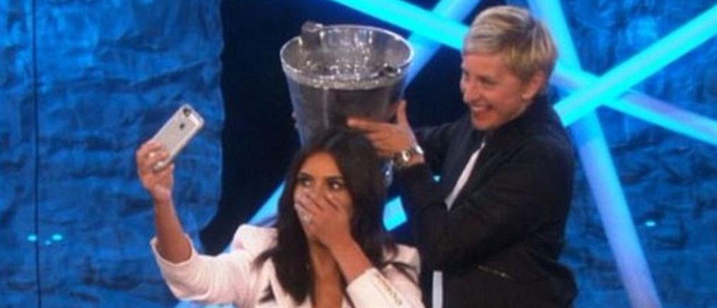 H Ellen DeGeneres μπουγελώνει την Kim Kardashian