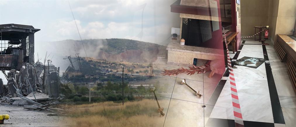 Συνεχίζονται οι έλεγχοι για ζημιές από το σεισμό