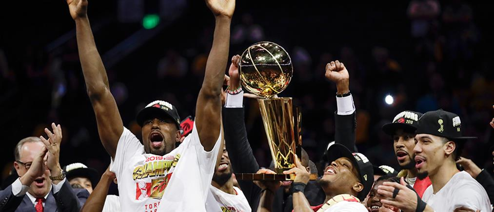 ΝΒΑ: πήραν το πρωτάθλημα οι Τορόντο Ράπτορς