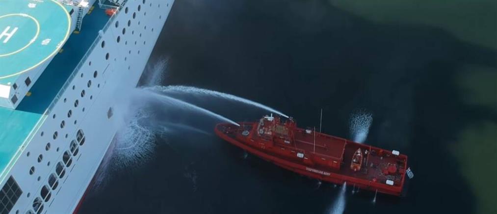 Ηγουμενίτσα: Τρόμος για εκατοντάδες επιβάτες από την φωτιά εν πλω (εικόνες)