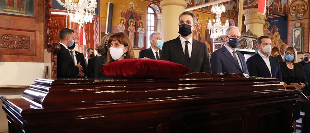 Κηδεία Μίκη Θεοδωράκη: η εξόδιος ακολουθία