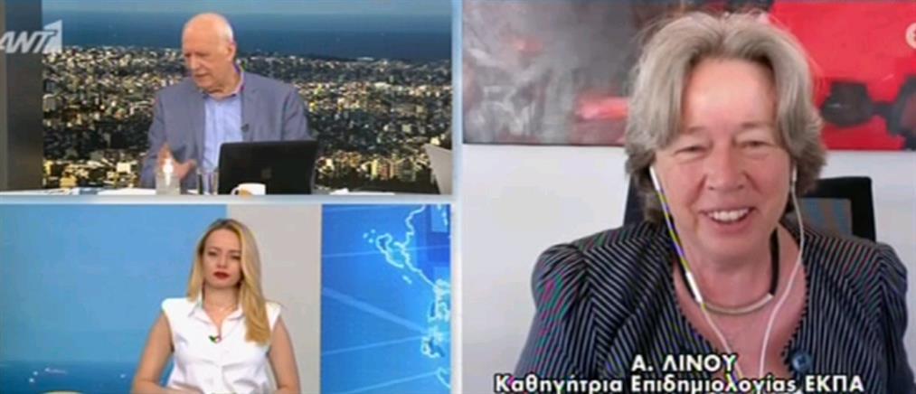 Μετάλλαξη Δέλτα – Λινού στον ΑΝΤ1: βιώνουμε κάτι που μοιάζει με νέα πανδημία