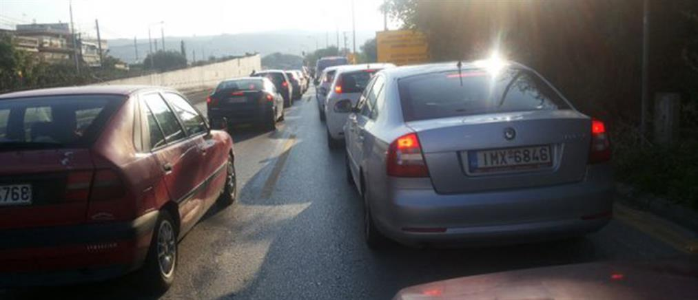 Καραμπόλα 15 αυτοκινήτων στην Θεσσαλονίκη