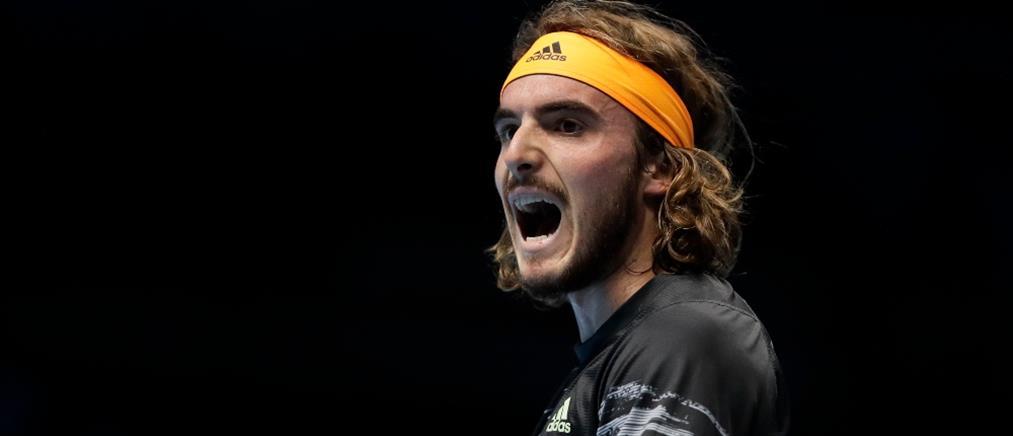 "ATP Finals: Ο Τσιτσιπάς ""λύγισε"" τον Φέντερερ"