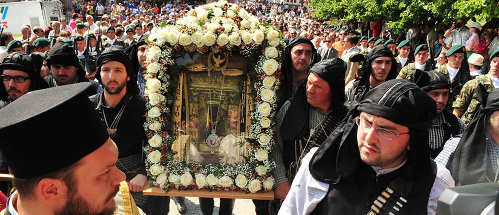 Στην Αγία Πετρούπολη η εικόνα της Παναγίας Σουμελά