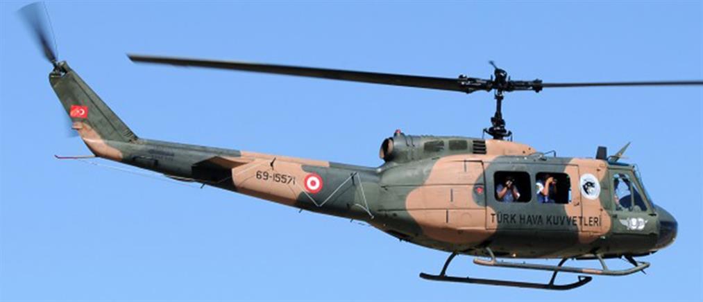 Τουρκικό ελικόπτερο πέταξε πάνω από το νησί Παναγιά!