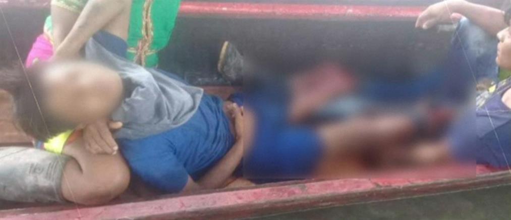 Ακρωτηριάστηκε παιδί που πάτησε νάρκη (βίντεο)