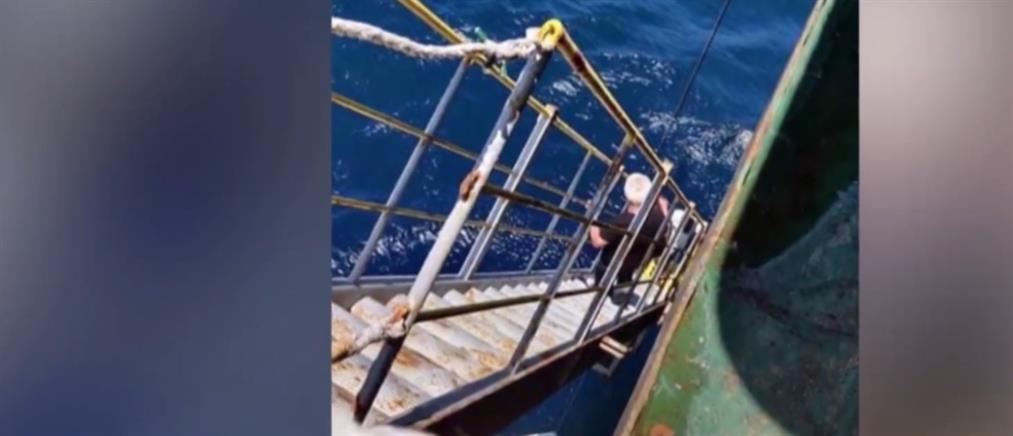 Βλάσης: Αίσιο τέλος για τους Έλληνες ναυτικούς στο Τζιμπουτί (εικόνες)