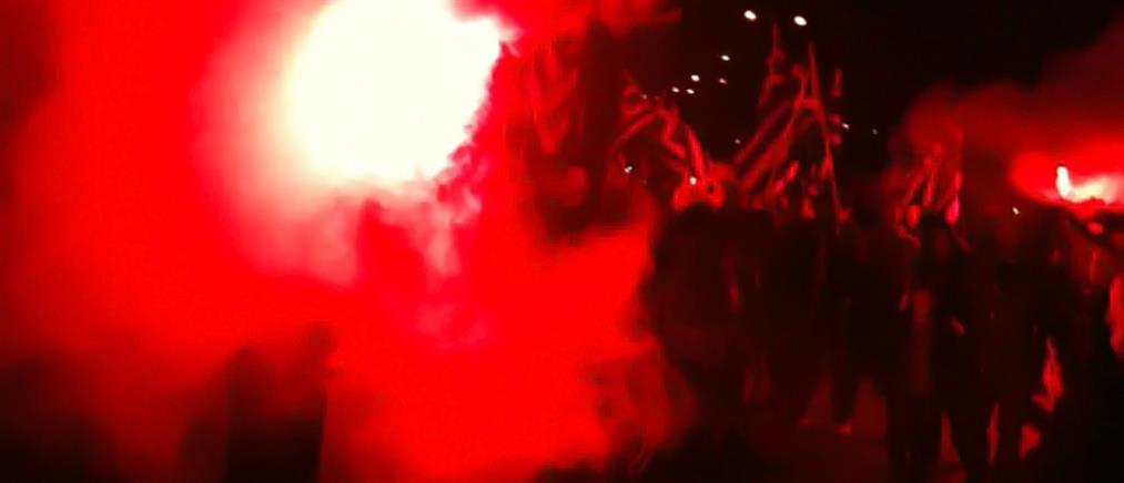 Βίντεο ντοκουμέντο από επίθεση ταγμάτων εφόδου της Χρυσής Αυγής