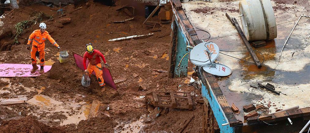 Βυθισμένη στο χάος των πλημμυρών η Βραζιλία (εικόνες)