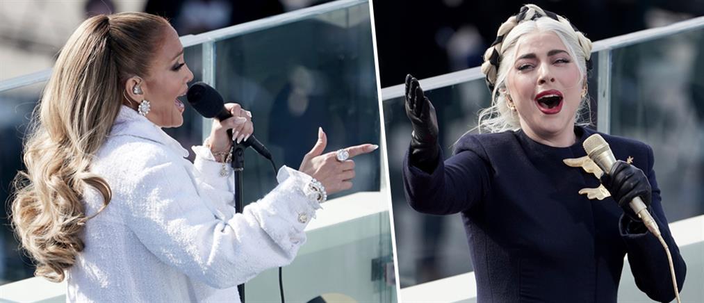 Oρκωμοσία Μπάιντεν: εντυπωσίασαν Gaga και Lopez (εικόνες)