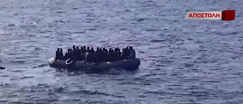 """Αποστολή ΑΝΤ1 στη Σάμο: """"θησαυρίζουν"""" οι διακινητές μεταναστών στο Αιγαίο (βίντεο)"""