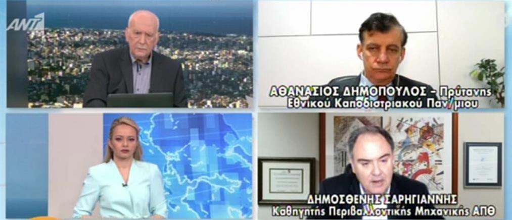 Σαρηγιάννης για κορονοϊό στον ΑΝΤ1: ρίσκο οι μετακινήσεις για Πάσχα στο χωριό (βίντεο)