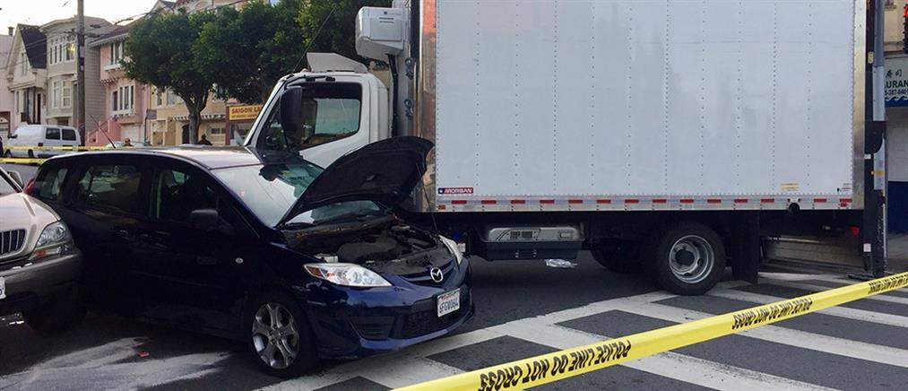 Σαν Φρανσίσκο: φορτηγό έπεσε πάνω σε πεζούς (φωτο)