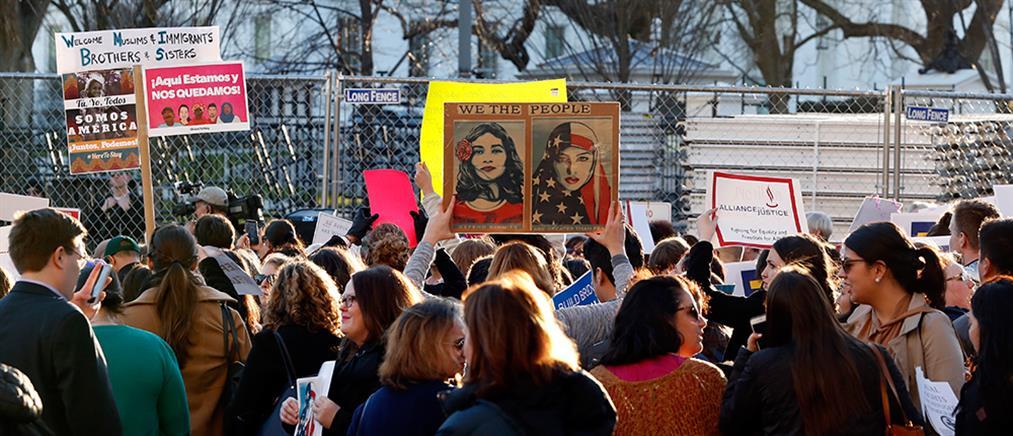 """Δικαστήριο βάζει """"φρένο"""" στο διάταγμα Τραμπ για τους πρόσφυγες"""