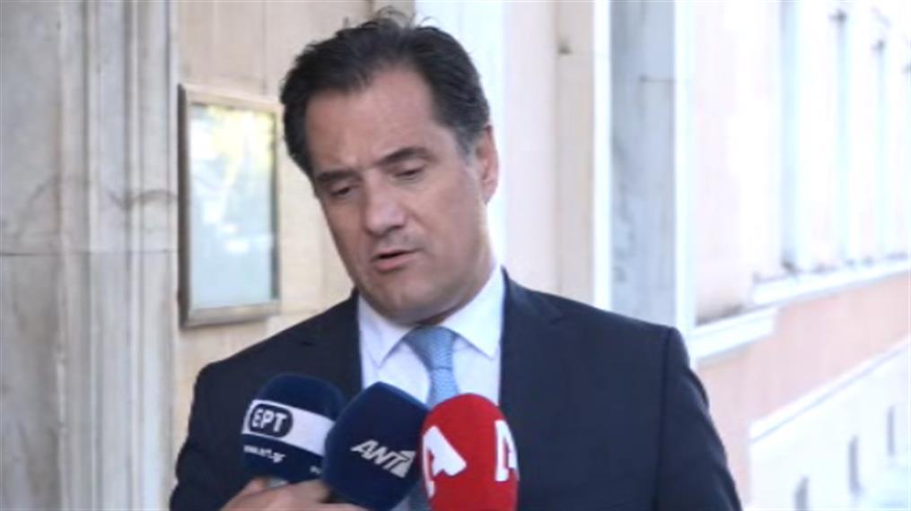 """Άδωνις Γεωργιάδης: """"Ο κύριος Τσίπρας και ο κύριος Πολάκης μπορεί να χρηματίστηκαν"""""""