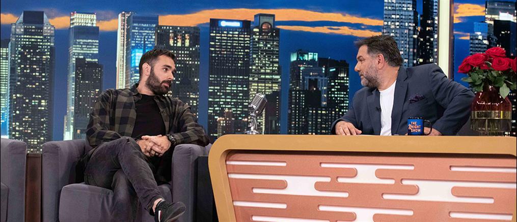 """Ιακωβίδης στο """"The 2Night Show"""": Έχω δεχθεί bullying (βίντεο)"""