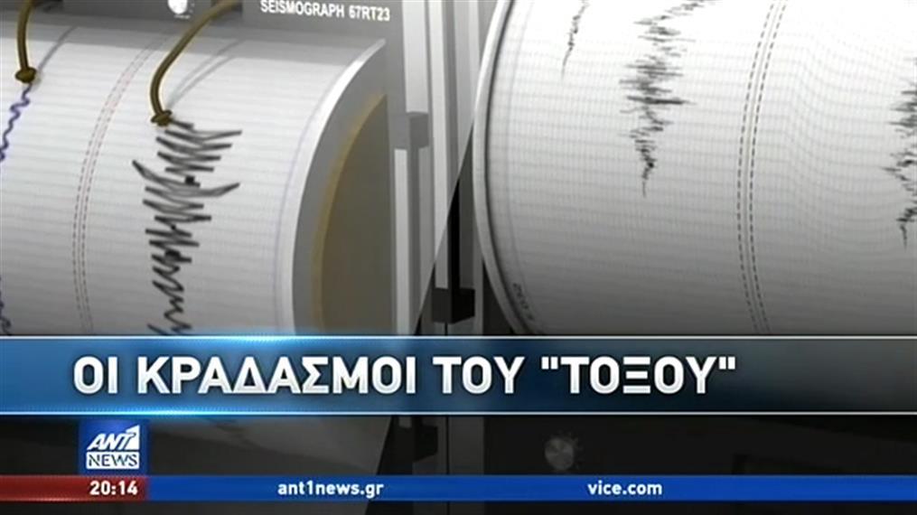 Συνεχείς οι σεισμικές δονήσεις στην Κρήτη