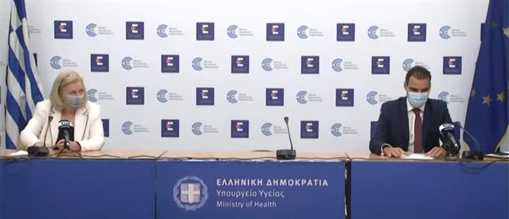 Κορονοϊός: Θεοδωρίδου - Θεμιστοκλέους για τα εμβόλια και την μετάλλαξη Δέλτα (βίντεο)