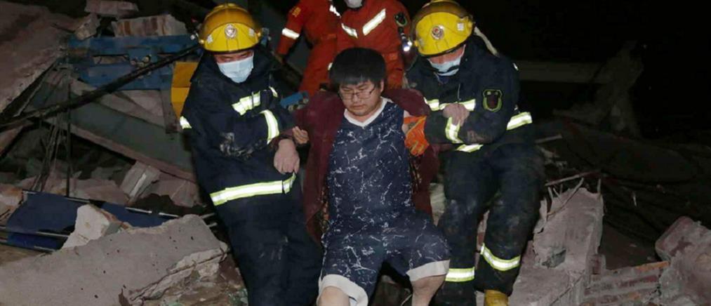 Κίνα: μετρά νεκρούς από την κατάρρευση ξενοδοχείου