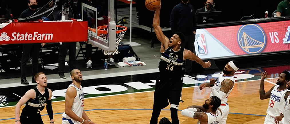 NBA: Ο Γιάννης Αντετοκούνμπο αναδείχθηκε παίκτης της εβδομάδας στην Ανατολή