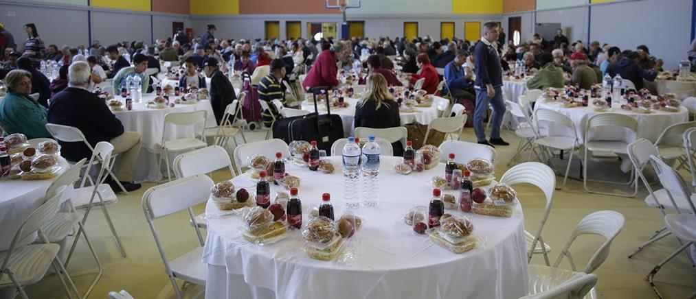 Τραπέζι αγάπης και αλληλεγγύης από τον Δήμο Αθηναίων