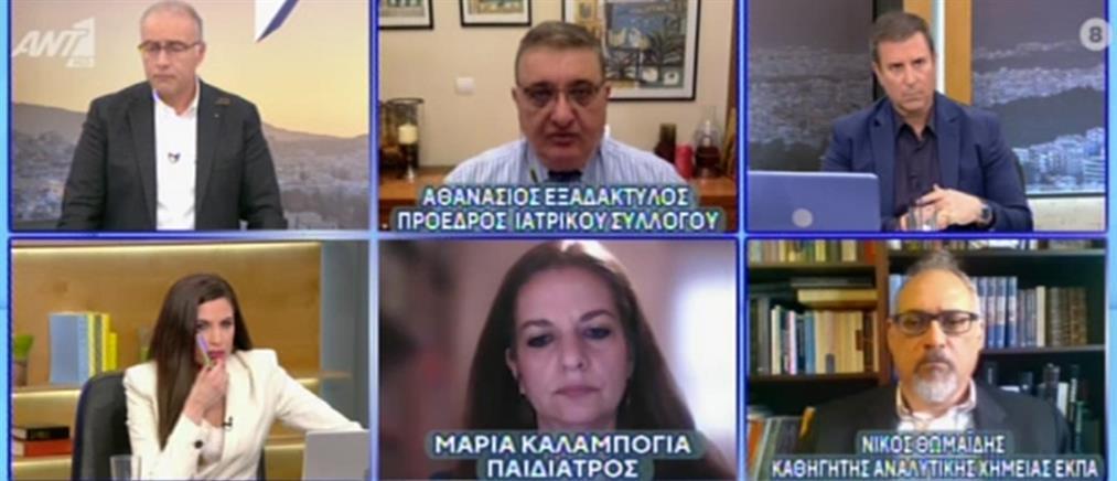 Κορονοϊός - Εξαδάκτυλος στον ΑΝΤ1: Το βρετανικό στέλεχος κυριαρχεί στο τρίτο κύμα