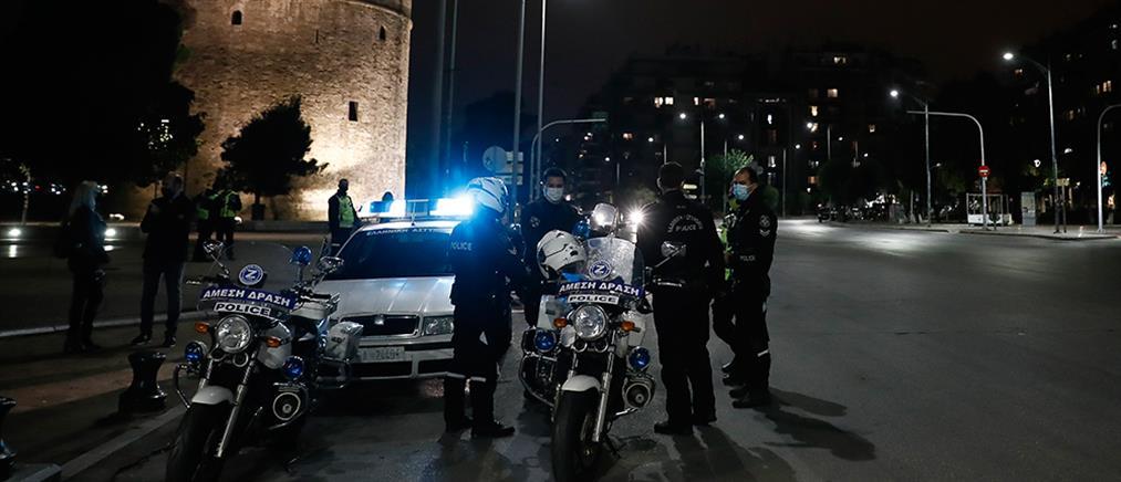 Θεσσαλονίκη: Συνεχείς έλεγχοι για την τήρηση του lockdown (εικόνες)