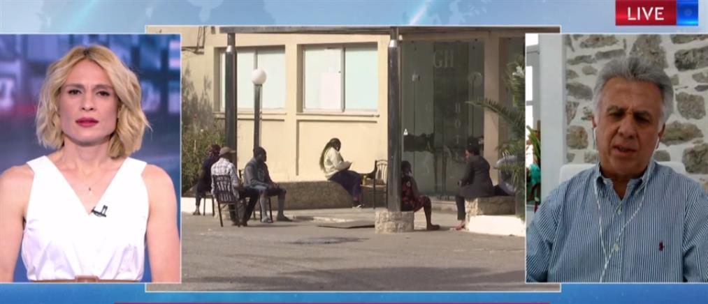 Δήμαρχος Ερμιονίδας στον ΑΝΤ1: Να φύγει η δομή προσφύγων από την περιοχή (βίντεο)