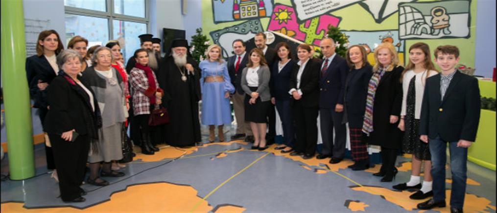 """Στο πλευρό των παιδιών της """"Ελπίδας"""" ο Αρχιεπίσκοπος Ιερώνυμος με την """"Αποστολή"""""""