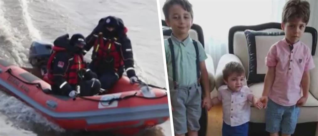 Αγνοούνται μητέρα και τρία παιδιά στον ποταμό Έβρο