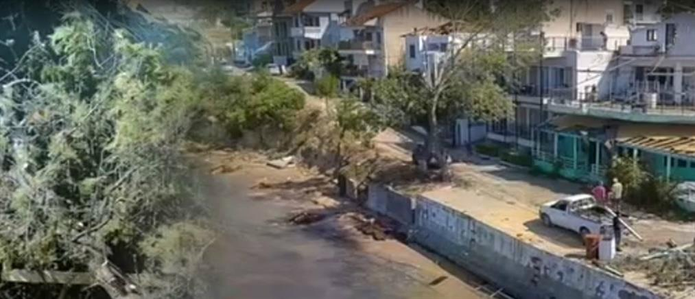"""Χαλκιδική: τον """"πρόδωσε"""" η καρδιά του την ώρα της κακοκαιρίας (βίντεο)"""