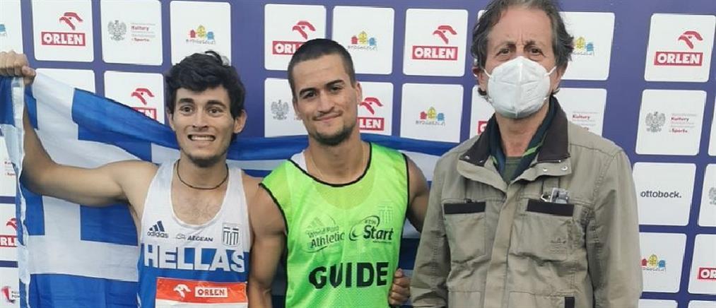 Ευρωπαϊκό Πρωτάθλημα Στίβου ΑμεΑ: Χρυσός ο Γκαβέλας