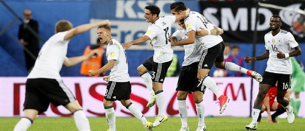 Η Γερμανία κατέκτησε το Confederations Cup