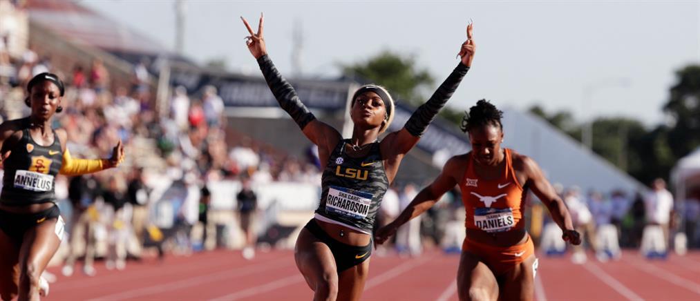 Σα Κάρι Ρίτσαρντσον: η 19χρονη που έτρεξε τα 100μ σε 10.75 (εικόνες)